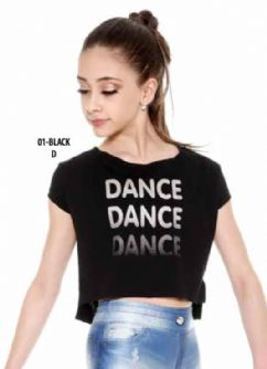 Camiseta niña E-11166PV So danca