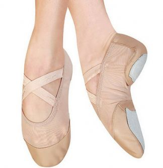 Media Punta BREEZE FF02 Capezio